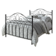 Ashley King Metal Bed in Black B280-482