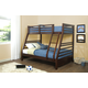 Hillsdale Furniture Bailey Twin/Full Bunk Bed in Mission Oak