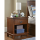 Hillsdale Furniture Bailey 1 Drawer Nightstand in Mission Oak 1836-771W