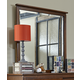 Hillsdale Furniture Bailey Mirror in Mission Oak 1836-721W
