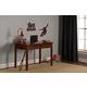 Hillsdale Furniture Bailey 2 Drawer Writing Desk in Mission Oak 1836-779W