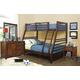 Hillsdale Furniture Bailey 4pc Bunk Bedroom Set in Mission Oak