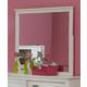 Hillsdale Furniture Bailey Mirror in White 1837-721W