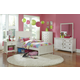 Hillsdale Furniture Bailey 4pc Youth Panel Bedroom Set in White