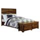 Hillsdale Furniture Madera Queen Storage Platform Bed in Natural