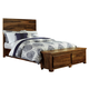Hillsdale Furniture Madera King Storage Platform Bed in Natural
