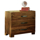 Hillsdale Furniture Madera 3 Drawer Nightstand in Natural 1406-771