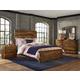 Hillsdale Furniture Madera 4pc Platform Bedroom Set in Natural