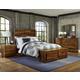 Hillsdale Furniture Madera 4pc Storage Platform Bedroom Set in Natural