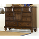 Hillsdale Furniture Pine Island Mule Dresser in Dark Pine 1215-787
