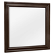 All-American French Market Landscape Mirror in Antique Merlot