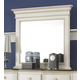 Hillsdale Furniture Pine Island Mirror in Old White 1052-722