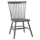 All-American New Orleans Desk Chair in Zinc