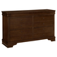 All-American New Orleans 6 Drawer Youth Dresser in French Cherry