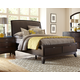 Hillsdale Furniture Denmark King Sleigh Storage Bed in Dark Espresso