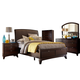 Hillsdale Furniture Denmark 4pc Sleigh Storage Bedroom Set in Dark Espresso