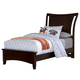All-American Critique Twin Wing Bed in Merlot