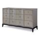 Legacy Classic Symphony Dresser in Platinum & Black Tie 5640-1200 PROMO