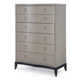Legacy Classic Symphony Drawer Chest in Platinum & Black Tie 5640-2200 SPECIAL