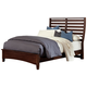 All-American Critique Queen Benchback Bed in Cherry
