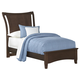 All-American Commentary Twin Wing Bed in Cherry