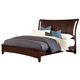 All-American Commentary Full Wing Bed in Cherry