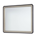 Legacy Classic Symphony Mirror in Platinum & Black Tie 5640-0400 SPECIAL