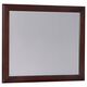 All-American Critique Large Landscape Mirror in Cherry