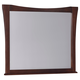 All-American Commentary Large Wing Mirror in Cherry