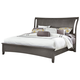 All-American Critique King Wing Bed in Steel