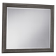 All-American Critique Large Landscape Mirror in Steel