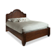 Durham Furniture Hudson Falls King Arch Panel Bed in Antique Rye
