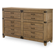 Legacy Classic Metalworks Dresser in Factory Chic 5610-1200