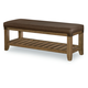 Legacy Classic Metalworks Bedroom Bench in Factory Chic 5610-4800