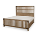 Legacy Classic Metalworks California King Wood Gate Bed in Factory Chic 5610-4207K