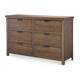 Legacy Classic Kids Fulton County Dresser in Tawny Brown 5900-1100