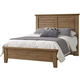 All-American Cassell Park King Plank Bed in Natural