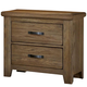 All-American Cassell Park 2 Drawer Nightstand in Natural