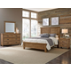 All-American Cassell Park 4pc Plank Bedroom Set in Natural