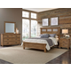 All-American Gramercy Park 4pc Tile Bedroom Set in Natural
