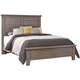 All-American Gramercy Park Queen Plank Bed in Weathered Gray