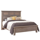 All-American Cassell Park Queen Tile Bed in Weathered Gray