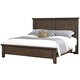 All-American Cassell Park Queen Plank Bed in Dark Roast