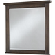 All-American Cassell Park Landscape Mirror in Dark Roast