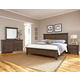 All-American Cassell Park 4pc Plank Bedroom Set in Dark Roast
