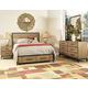 Ligna Brentwood 4 Piece Storage Bedroom Set in Weathered Pier