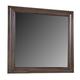 All-American Villa Sophia Landscape Mirror in Dark Roast