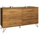 Ligna Jackson Double Dresser in Cinnamon 9726 CN