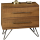 Ligna Jackson 2 Drawer Nightstand in Cinnamon 9722 CN