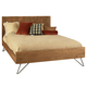 Ligna Jackson Queen Panel Bed in Cinnamon